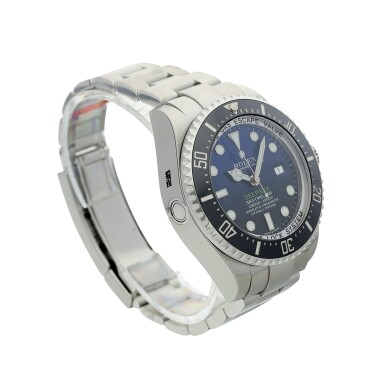 View 3. Thumbnail of Lot 96. REFERENCE 116660 DEEP-SEA A STAINLESS STEEL WRISTWATCH WITH DATE AND BRACELET, MADE TO COMMEMORATE JAMES CAMERON'S DEEPSEA CHALLENGE, CIRCA 2017.
