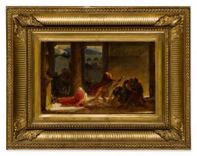 View 2. Thumbnail of Lot 53. The Death of Pyrrhus.