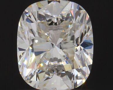 A 1.02 Carat Cushion-Cut Diamond, J Color, VS1 Clarity