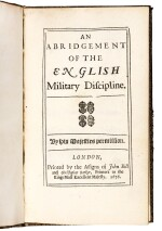 Abridgement of the English military discipline, 4 editions, 1676, 1684, 1685, 1686