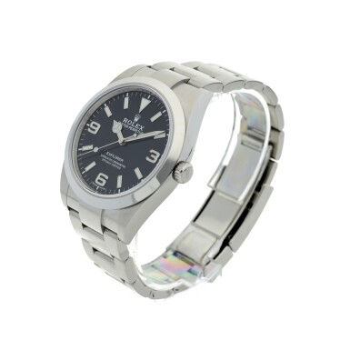 View 2. Thumbnail of Lot 98. ROLEX   REFERENCE 214270 EXPLORER A STAINLESS STEEL AUTOMATIC WRISTWATCH, CIRCA 2019.