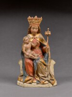 Austrian, Salzburg, late 15th century | Virgin and Child Enthroned