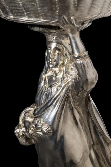 View 8. Thumbnail of Lot 2. Flora: An Important Dutch silver standing salt, Adam van Vianen, (Utrecht), 1621.