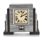 J.L. REUTTER | J.L. REUTTER ATMOS, REFERENCE M246, A MARBLE ATMOS CLOCK, CIRCA 1930
