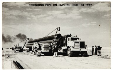 View 1. Thumbnail of Lot 254. Saudi Arabia | 15 photographs of the oil industry, c.1950.
