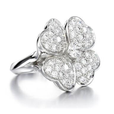View 2. Thumbnail of Lot 142. Diamond ring, 'Cosmos'.