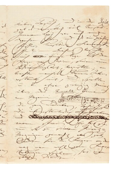 View 2. Thumbnail of Lot 35. Clara Schumann. 215 unpublished letters to the composer and environmentalist Ernst Rudorff, with his replies, 1858-1896.