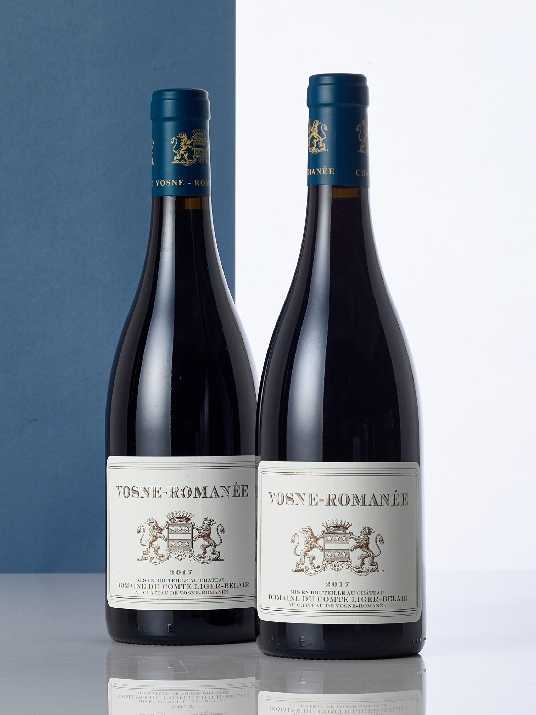 View full screen - View 1 of Lot 6320. Vosne Romanée 2017 Domaine du Comte Liger-Belair (2 BT).