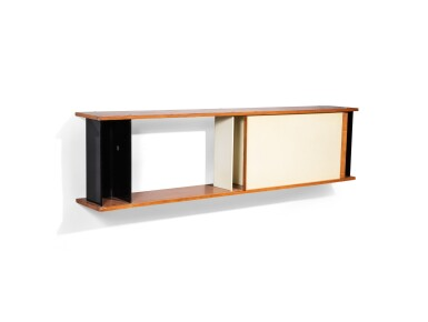 View 2. Thumbnail of Lot 17. Hanging cabinet, 1957.