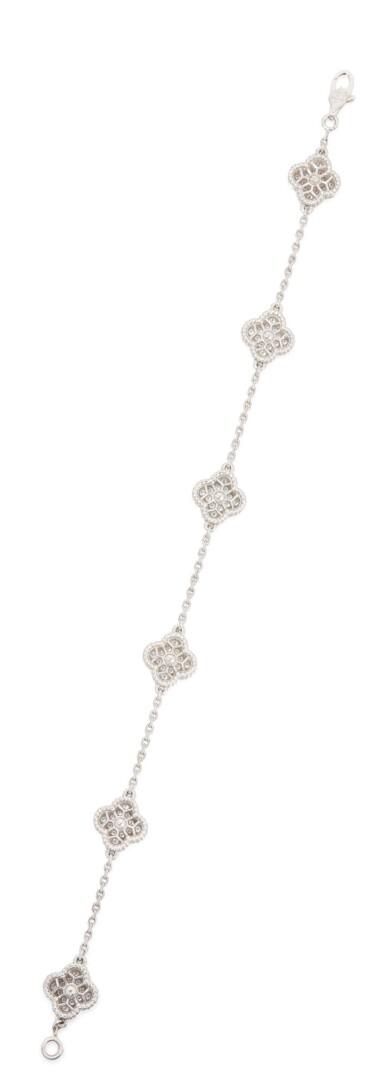 DIAMOND 'SWEET ALHAMBRA' BRACELET, VAN CLEEF & ARPELS