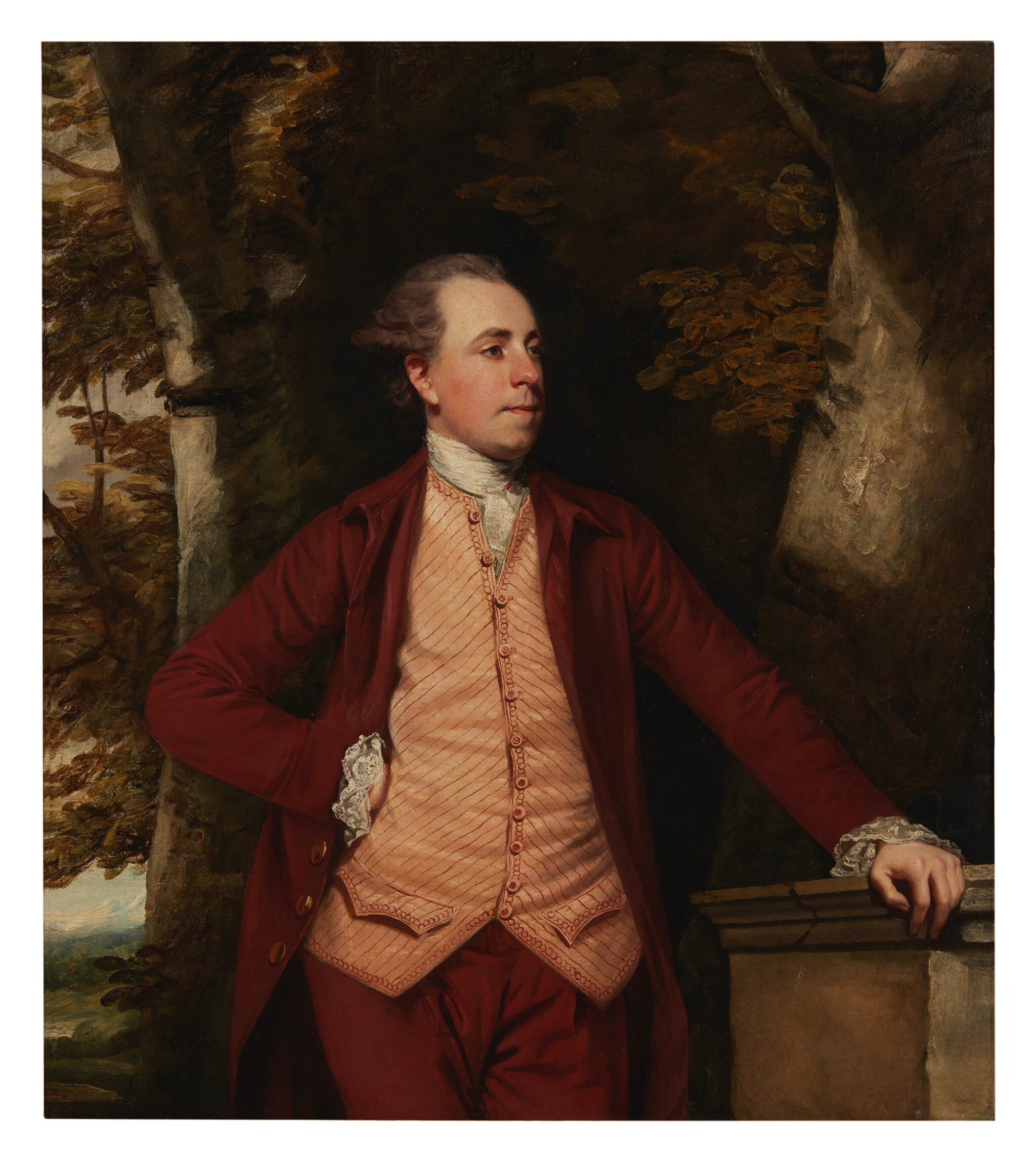 View 1 of Lot 114. SIR JOSHUA REYNOLDS, P.R.A.  |  PORTRAIT OF RICHARD CROFTS OF WEST HARLING, NORFOLK.