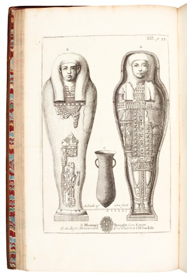 Pococke | A description of the East, 1743, 2 volumes