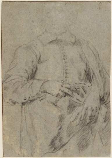 ATTRIBUTED TO SIR ANTHONY VAN DYCK | Study for a Portrait of a Standing Man