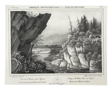 View 7. Thumbnail of Lot 225. Milbert, Jacques-Gérard |  An outstanding series of American views.