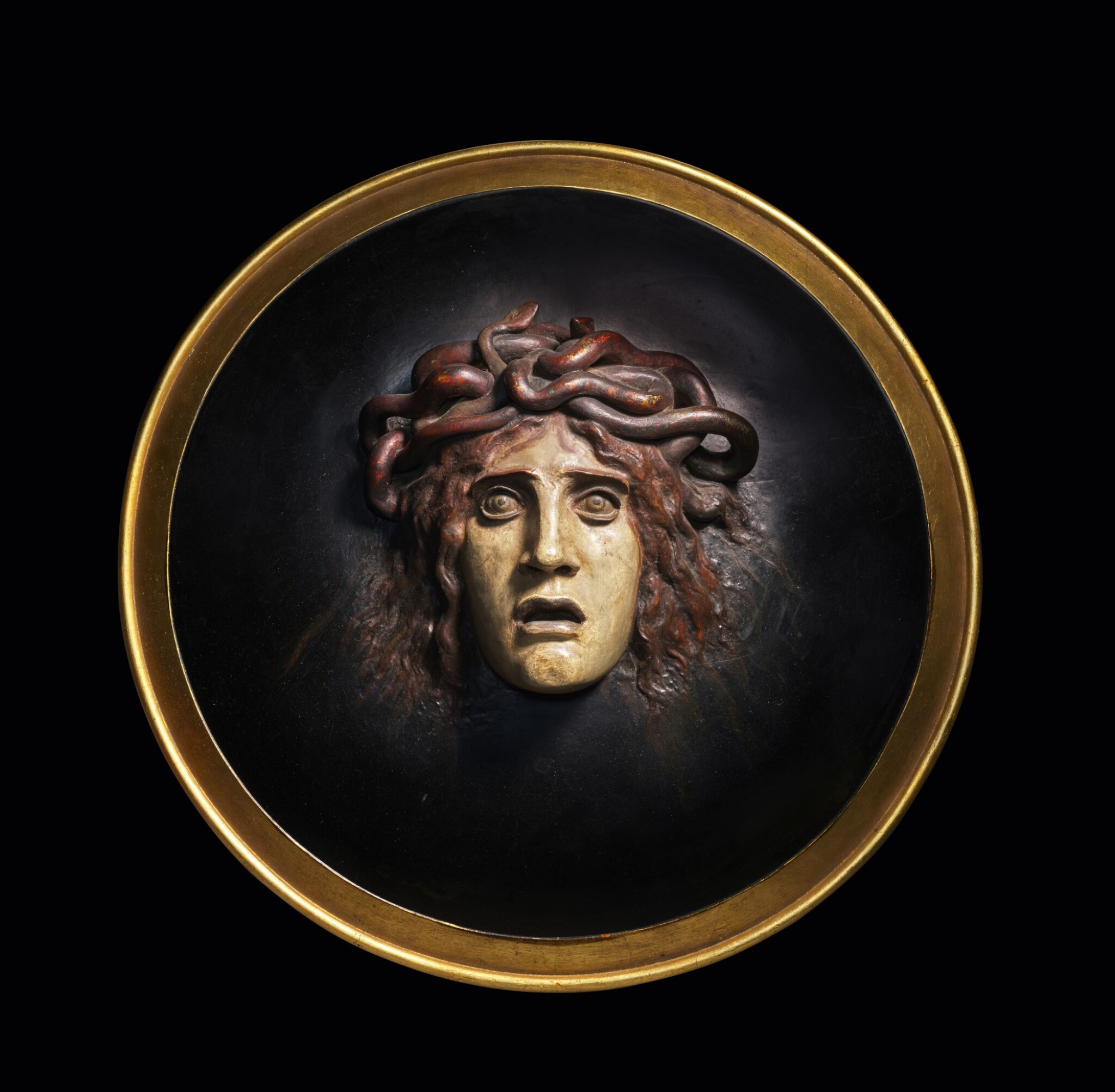 View full screen - View 1 of Lot 9. Medusenschild (Shield with the Head of Medusa).