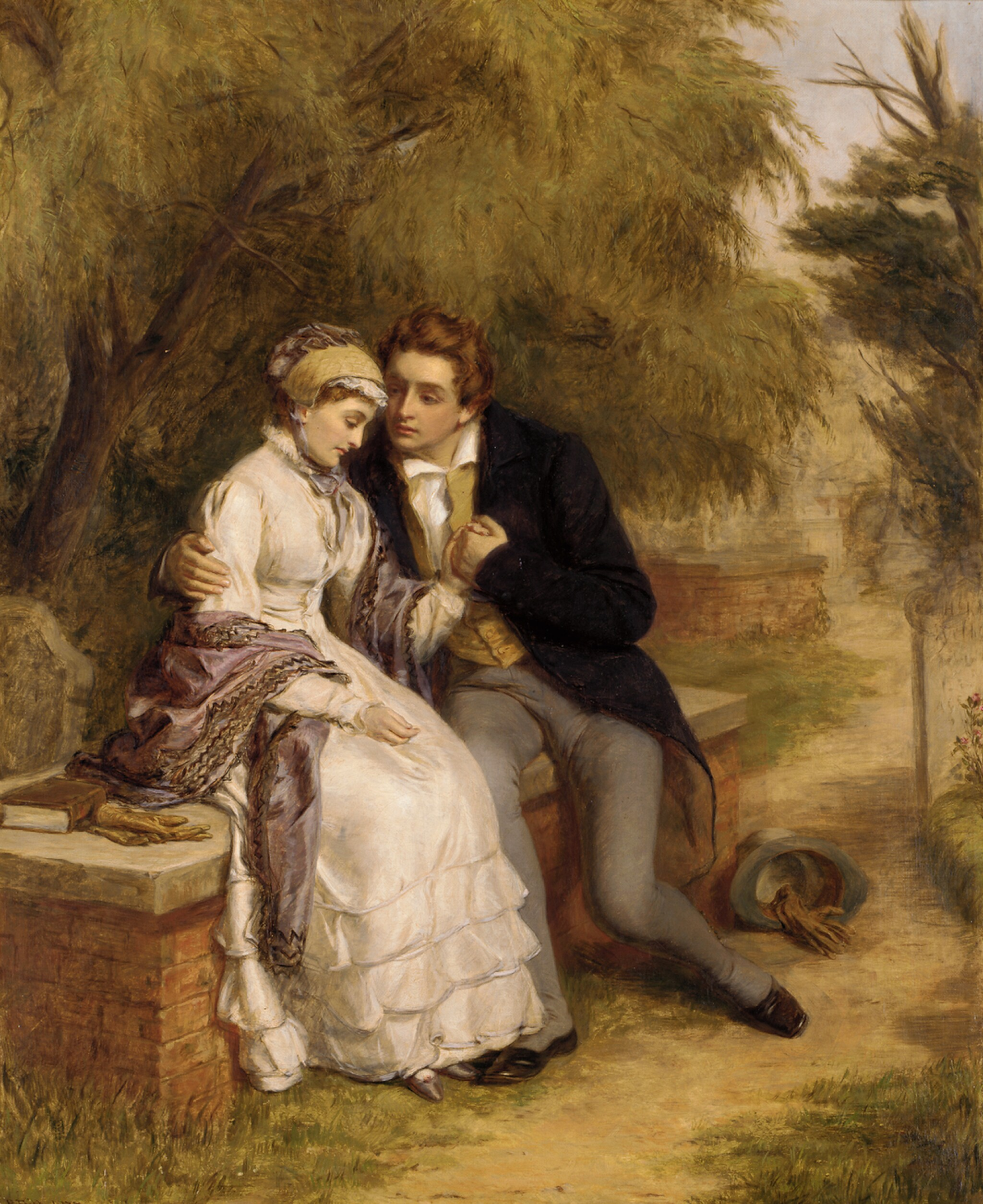 View 1 of Lot 48. WILLIAM POWELL FRITH, R.A. | The Lover's Seat.