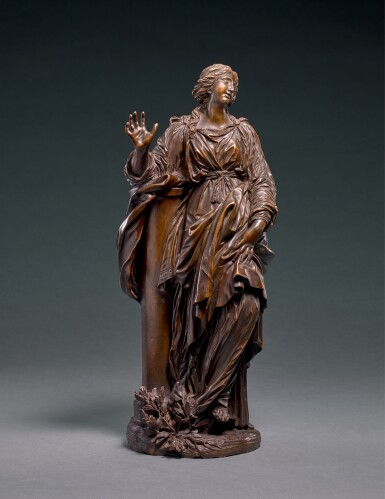 AFTER GIAN LORENZO BERNINI (1598-1680), ITALIAN, ROME, 17TH/ EARLY 18TH CENTURY | SANTA BIBIANA