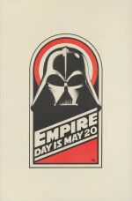 THE EMPIRE STRIKES BACK, BRITISH ROYAL CHARITY WORLD PREMIERE POSTER, RALPH MCQUARRIE, 1980