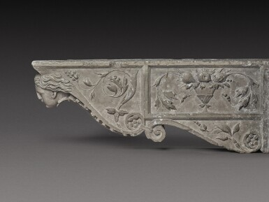 View 1. Thumbnail of Lot 129. Italian, Tuscany, 16th century | Pair of Architectural Brackets.