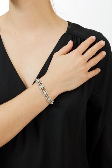BRACELETS PERLES ET DIAMANTS | PEARL AND DIAMOND BRACELET