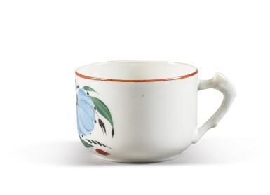 View 2. Thumbnail of Lot 150. A Soviet porcelain teacup, State Porcelain Factory, Petrograd, 1924.
