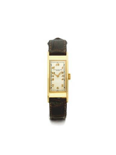 PATEK PHILIPPE | REF 138, A YELLOW GOLD RECTANGULAR WRISTWATCH MADE IN 1925
