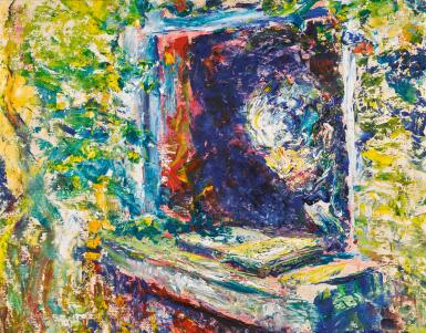 JACK BUTLER YEATS, R.H.A. | THE SUNLIT PAGE