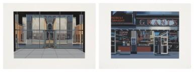 RICHARD ESTES | SEAGRAM BUILDING; AND GRANT'S