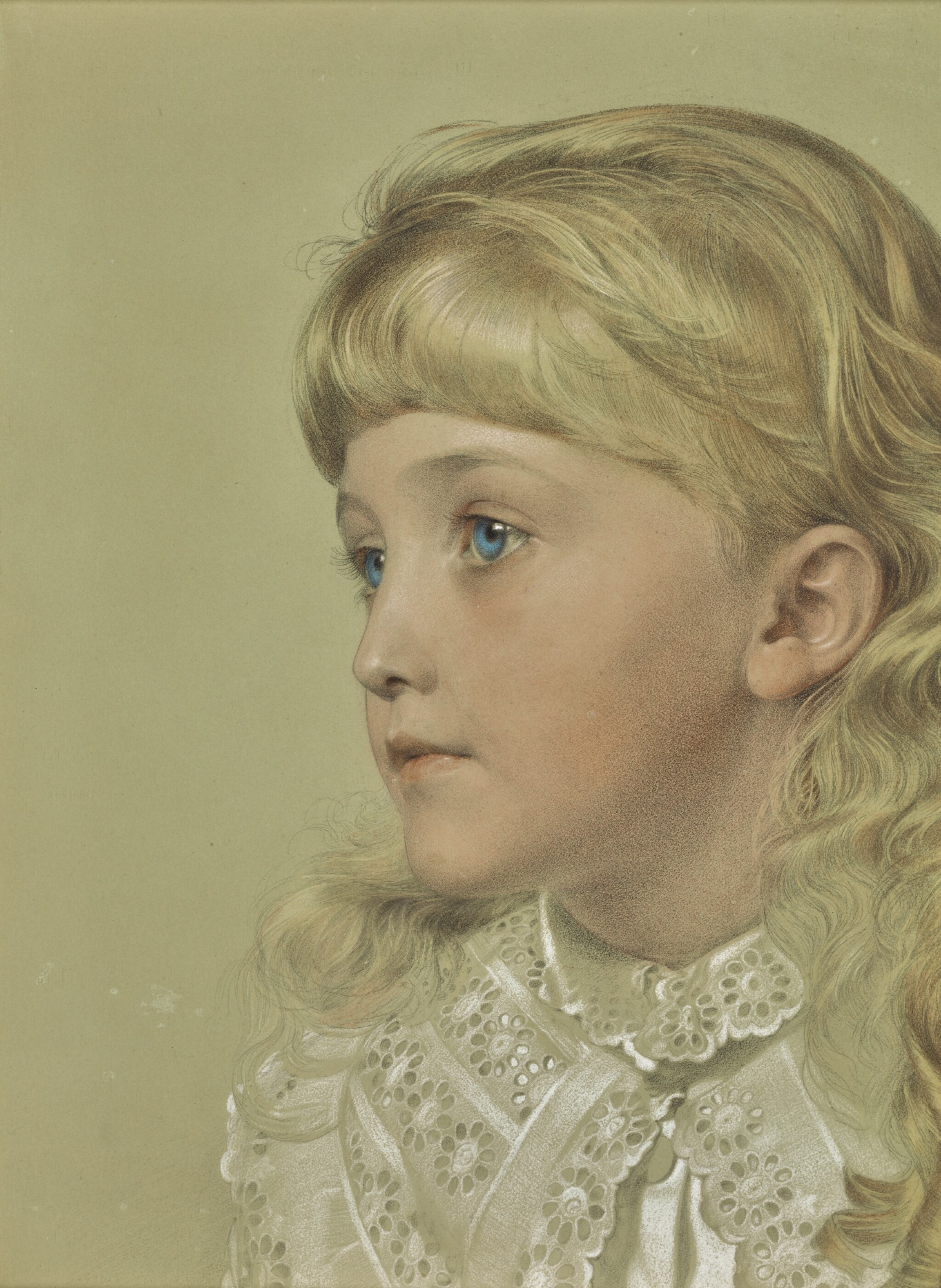 ANTHONY FREDERICK AUGUSTUS SANDYS | PORTRAIT OF MAY GILLILAN