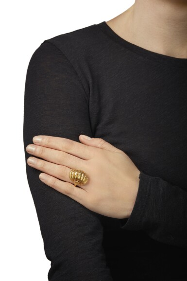 View 4. Thumbnail of Lot 107. GROUP OF GOLD JEWELRY, ILIAS LALAOUNIS.