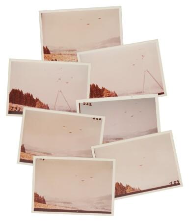 "View 2. Thumbnail of Lot 213. UFO SIGHTING. 7 VINTAGE PHOTOS TAKEN BY ""BILLY"" EDUARD ALBERT MEIER IN SWITZERLAND ON 28 MARCH 1976.."