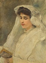 KONSTANTIN EGOROVICH MAKOVSKY | WOMAN READING