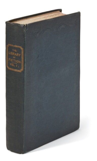 [Dickens], The Library of Fiction, Volume I, 1836, first edition in book form
