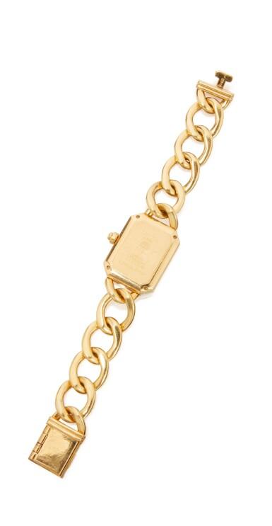 GOLD AND DIAMOND 'PREMIÈRE' WRISTWATCH, CHANEL