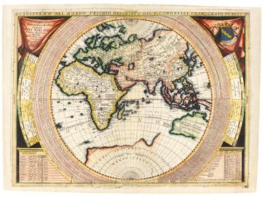 Coronelli | Planisfero Del Mondo Vecchio, [late seventeenth-century]