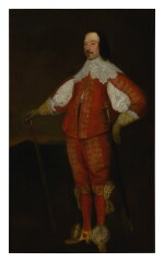 FOLLOWER OF SIR ANTHONY VAN DYCK, 17TH CENTURY | PORTRAIT OF FITZWILLIAM CONINGSBY, M.P. (1589 - 1666), FULL LENGTH