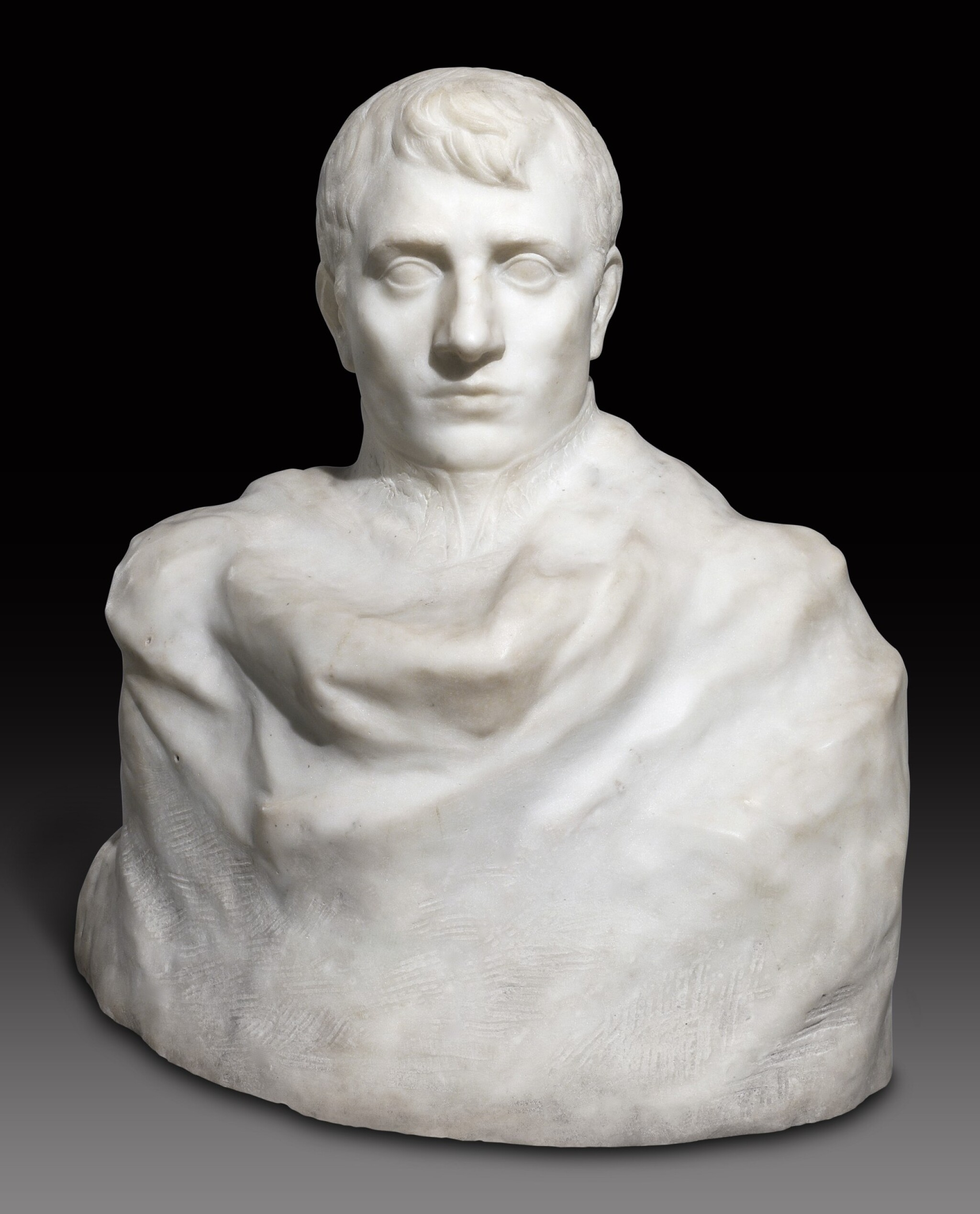 View full screen - View 1 of Lot 1016. Auguste Rodin 奧古斯特・羅丹 | Napoléon Enveloppé dans Son Réve 逐夢的拿破崙.