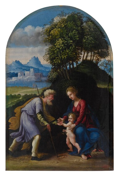 View 1. Thumbnail of Lot 23. The Holy Family.