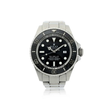 View 1. Thumbnail of Lot 282. REFERENCE 116660 DEEPSEA SEA-DWELLER A STAINLESS STEEL AUTOMATIC WRISTWATCH WITH DATE AND BRACELET, CIRCA 2007.