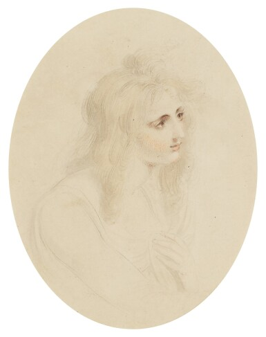 SIR THOMAS LAWRENCE, P.R.A. | A study of a young woman