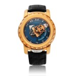 ULYSSE NARDIN   FREAK, REF 026-88  PINK GOLD CAROUSEL WRISTWATCH WITH DUAL DIRECT ESCAPEMENT  CIRCA 2010