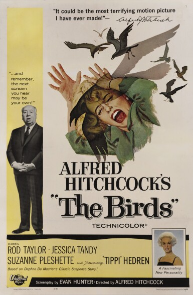 The Birds (1963) poster, US
