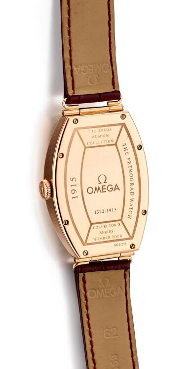 View 3. Thumbnail of Lot 8105. OMEGA | THE MUSEUM COLLECTION, REFERENCE 5703.30.01 | A LIMITED EDITION PINK GOLD WRISTWATCH, CIRCA 2004 | 歐米茄 |博物館系列 型號5703.30.01   限量版粉紅金腕錶,約2004年製.