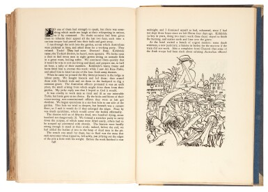 View 1. Thumbnail of Lot 105. LAWRENCE, T.E. | Seven Pillars of Wisdom, 1926, 1st US edition, NO.7 OF 22 COPIES, signed by Doran.