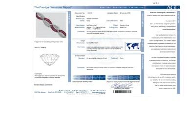 View 5. Thumbnail of Lot 90. Harry Winston [海瑞溫斯頓] | Ruby and Diamond Bracelet [紅寶石配鑽石手鏈].
