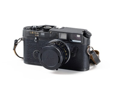 View 1. Thumbnail of Lot 66. Leica M6 Camera of Paolo Roversi.