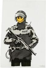 Banksy 班克斯 | Riot Cop