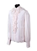 GEORGE HARRISON | White shirt with ruffle collar, c.1968