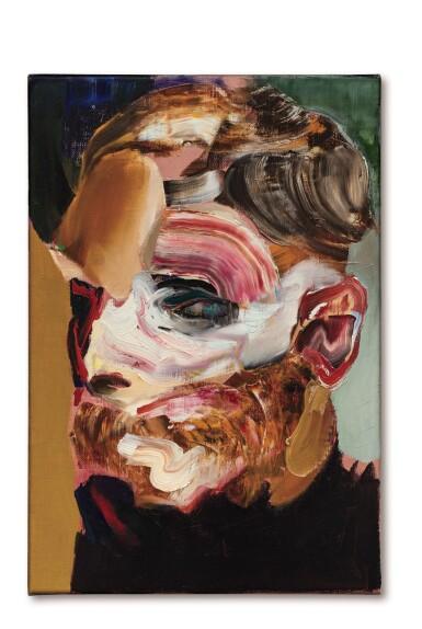 View 1. Thumbnail of Lot 1113. Adrian Ghenie 亞德里安・格尼 | Self-Portrait in 1945 1945年的自畫像.