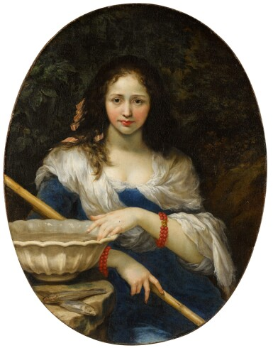 View 1. Thumbnail of Lot 41. 'La Pescatrice' (The Fisherwoman), or An Allegory of Fraud   《女漁夫》或《欺詐的寓言》.